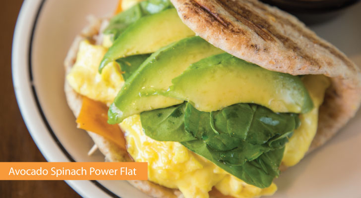 Avocado Spinach Power Flat